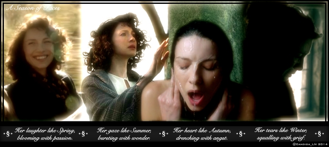 The many emotions of Claire Randall (Caitriona Balfe).
