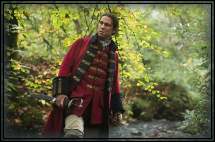 Captain Jonathan Wolverton Randall, Esquire (Tobias Menzies), at your service.
