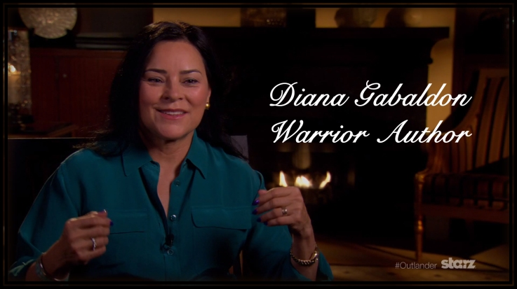 Diana Gabaldon (author of the Outlander series) talks adaptation.