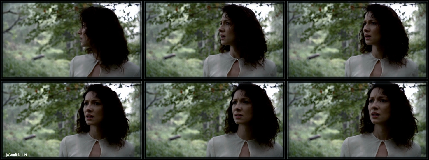 Claire (Caitriona Balfe) is not in 1945 any more.