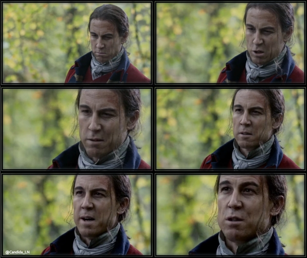 "The mighty Captain Jonathan ""Black Jack"" Wolverton Randall (Tobias Menzies) – at your service."