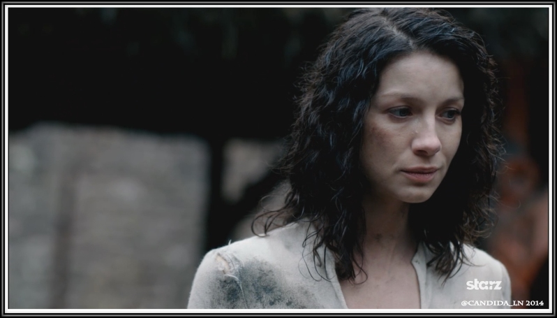 Claire Randall (Caitriona Balfe) is in an alien world.