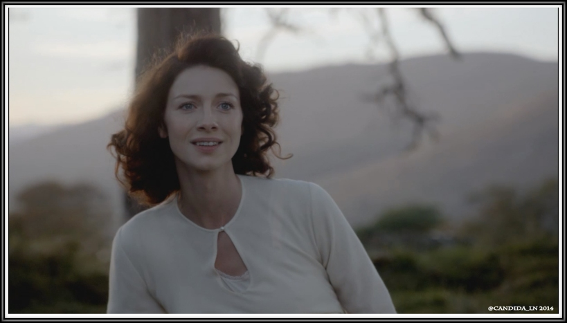 Claire (Caitriona Balfe) fantasizes about returning to her own time and Frank.