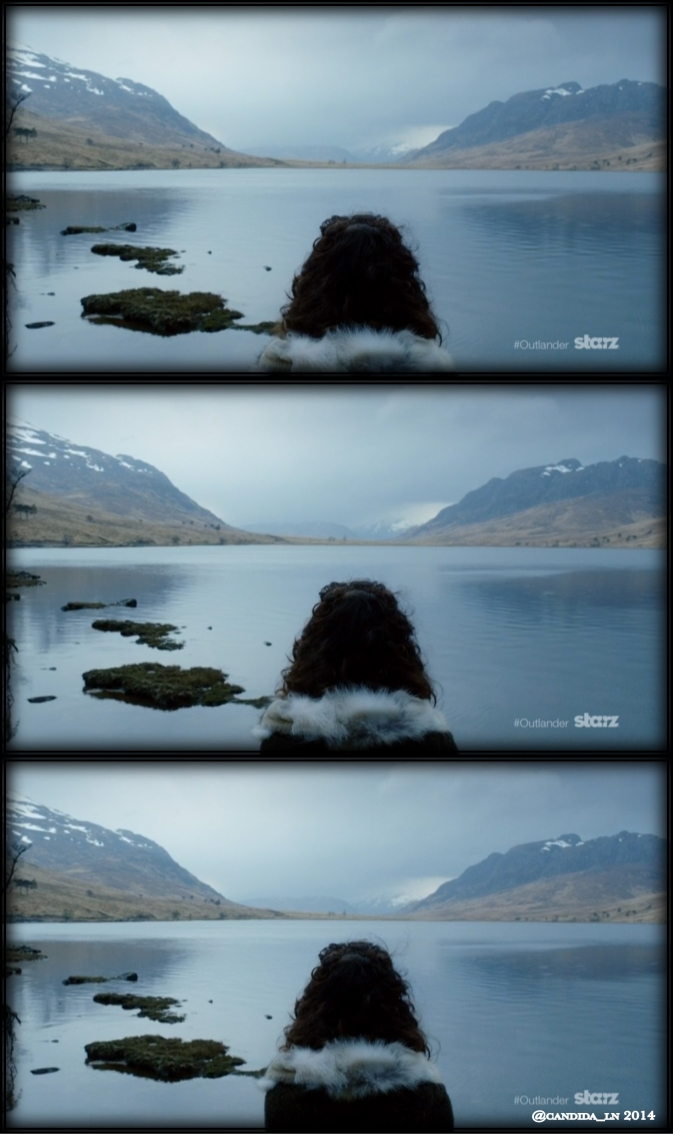 Claire (Caitriona Balfe) overlooks Loch _______.