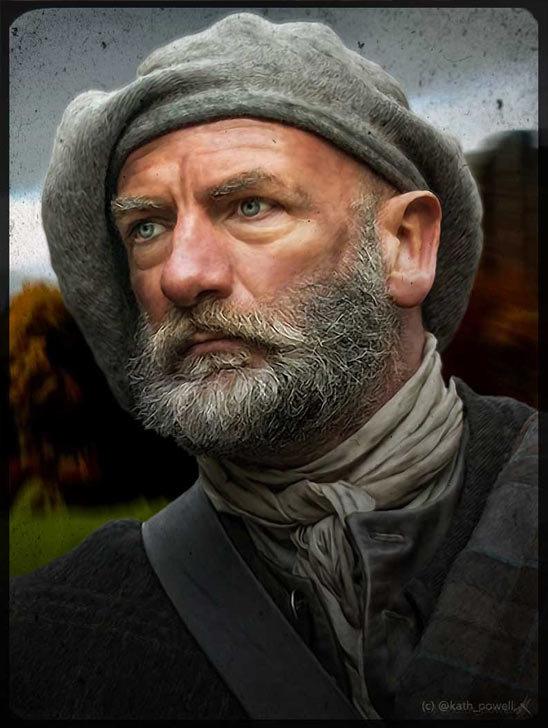 Graham McTavish as Dougal MacKenzie by Kath Powell
