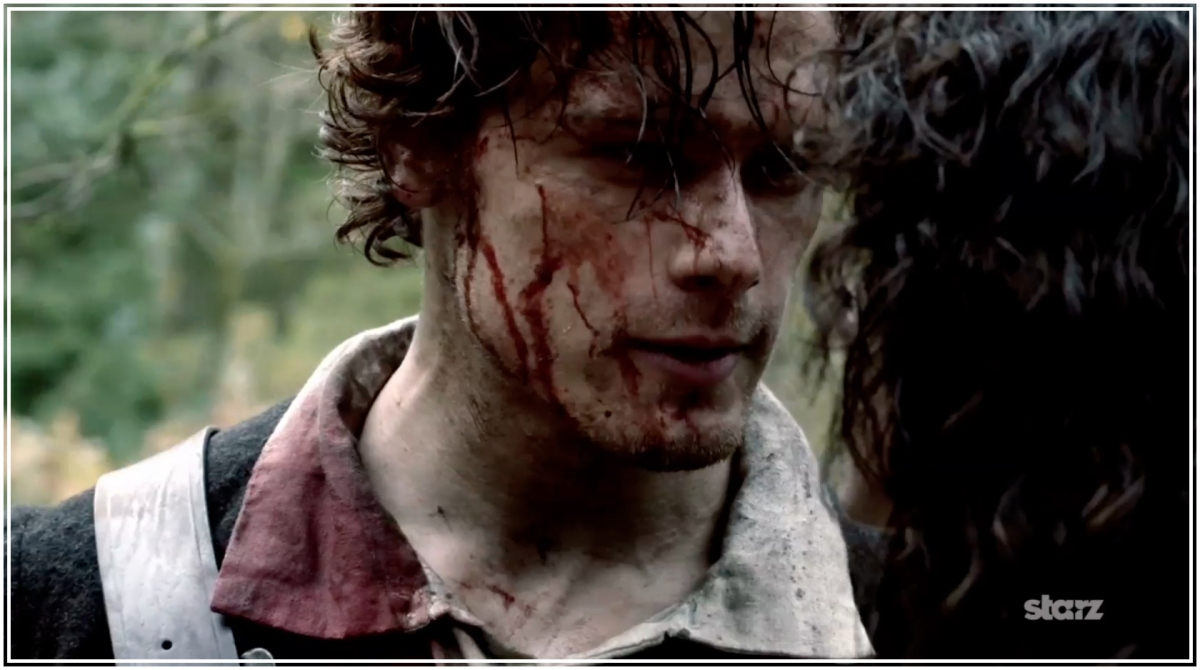 Jamie's Top 30 Looks from #Outlander Episode 101: SASSENACH