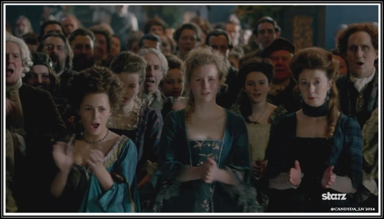 Shot of crowd at The Gathering in Leoch Hall.
