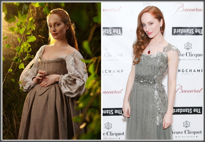 Geillis Duncan, wearing  Terry Dresbach and Lotte Verbeek, wearing Baccarat earrings, necklace and ring at The Young Patrons Circle of American Friends of the Louvre.