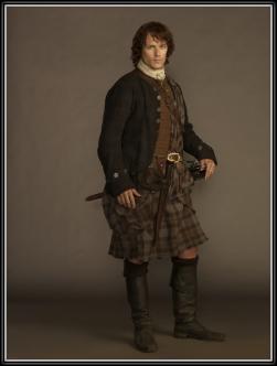Sam Heughan as James Fraser