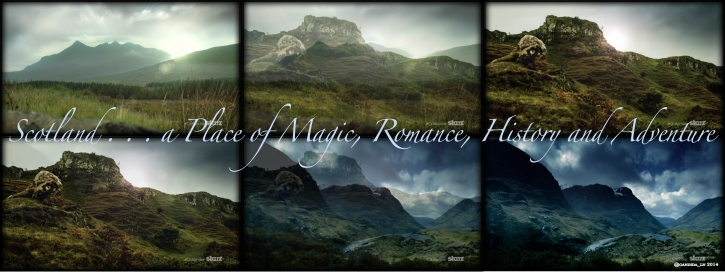 Sweeping panoramas of Scotland.
