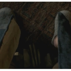 Colum's slippers