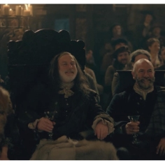 Aislin McGuckin as Letitia MacKenzie, Gary Lewis as Colum MacKenzie & Graham McTavish as Dougal MacKenzie
