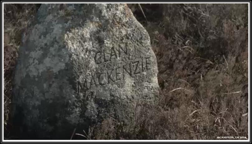 Clan MacKenzie grave marker.