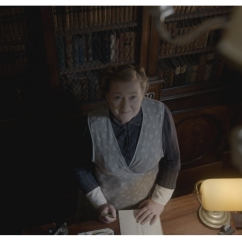 Kathryn Howden as Mrs. Baird