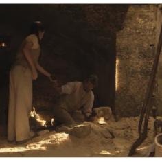 Elizabeth Bowie as Young Claire & Prentis Hancock as Uncle Lamb