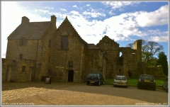 900-year-old Aberdour Castle