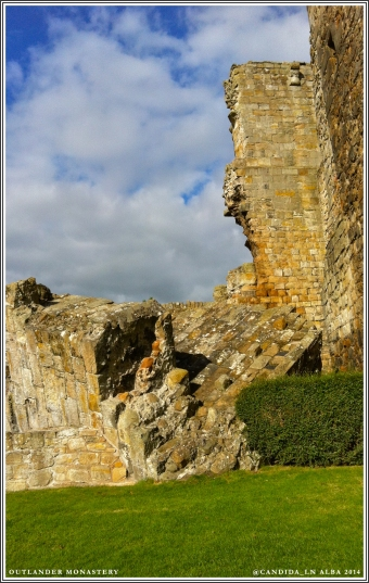 This 15th Century section of the castle collapsed in 1844.