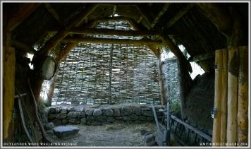 Thatched hut where village women get piss drunk then pee in a bucket.