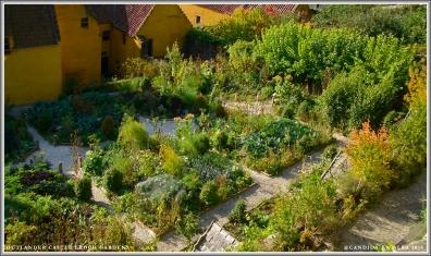 Castle Leoch Gardens, upper level.