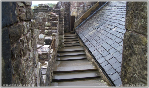 Roof where Claire initially steps out after meeting with Colum.