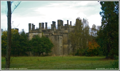 Georgian manor used as WWII field hospital.