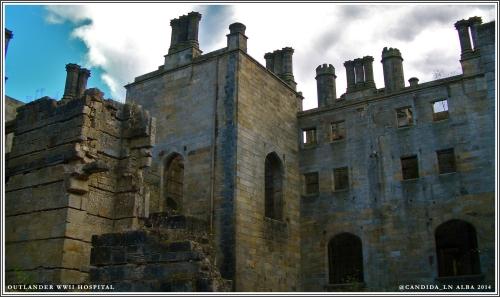Older part of Georgian manor.
