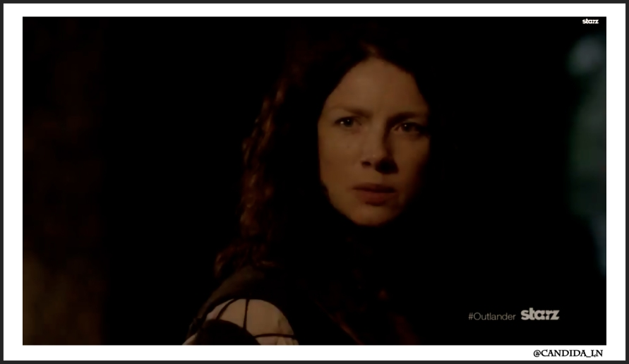 Claire (Caitriona Balfe) will not give up on Jamie.