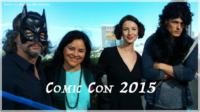 Outlander at Comic Con San Diego 2015