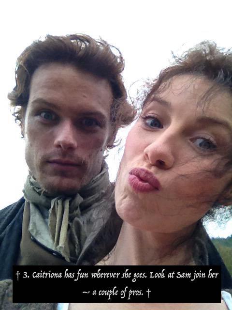 25 Days of #Outlander – Day 18: SAM AND CAITRIONA