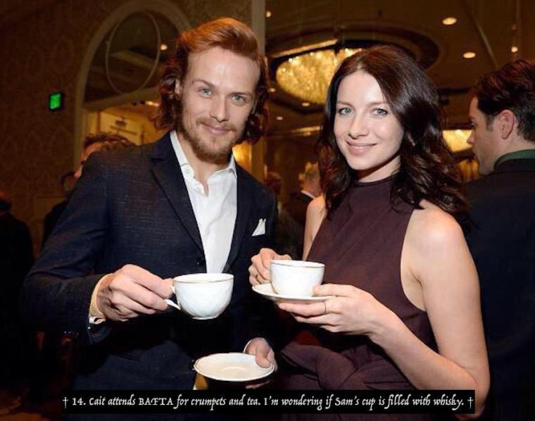 14 Sam Cait BAFTA tea