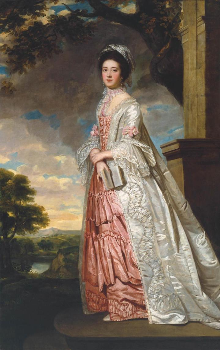 Mrs Cadoux c.1770 British School 18th century 1700-1799 Bequeathed by Miss Mary Burgess Hudson 1931 http://www.tate.org.uk/art/work/N03728