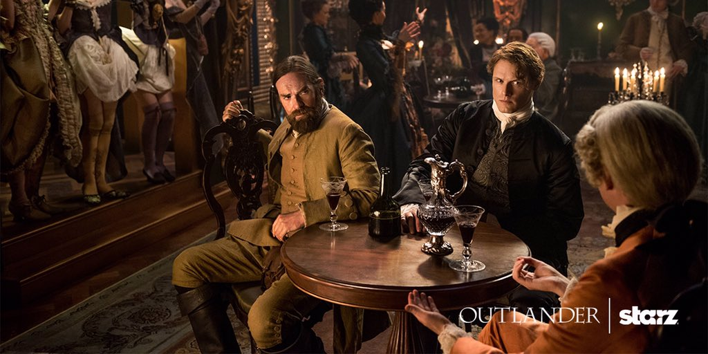 Jamie and Murtagh in brothel