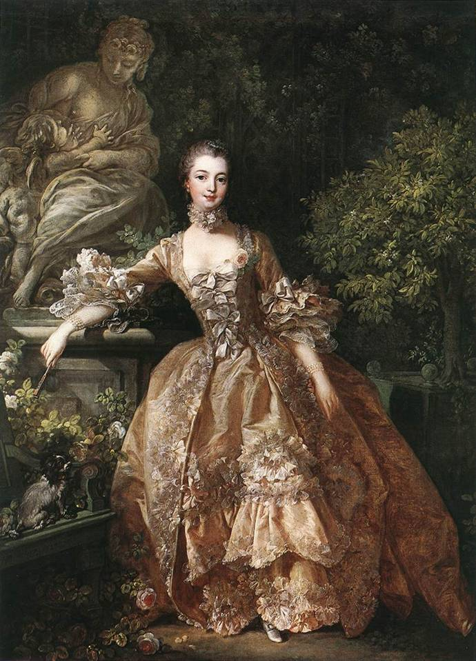 Madame de Pompadour (1759); Artist, François Boucher (1707-1787); Oil on canvas