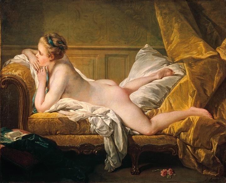 Marie-Louise O'Murphy by François Boucher