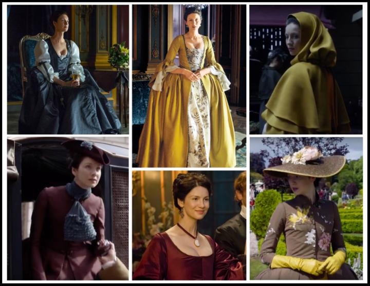 Season 2 Claire Collage