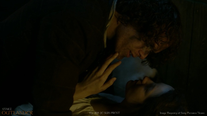 11 ep209 Jamie Telling Claire to get dressed