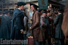 "Cesar Domboy portrays adult Fergus in the some of the season's earlier episodes. ""Jamie's like a father figure, a savior, and a master,"" explains Domboy. ""I'm right-handing Jamie on everything."""