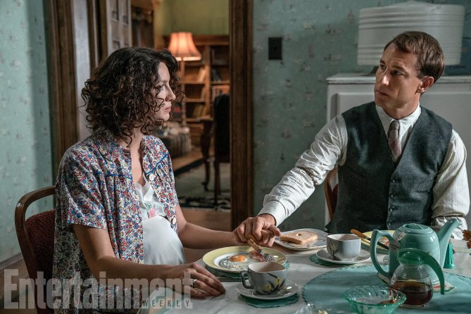 """""""The relationship we all want is Claire and Jamie but the relationship most of us get or have had is Claire and Frank,"""" explains Balfe. """"It just feels very real and it's tragic. These are two good people, they're trying to do their best, but they're just never going to be able to give each other what they need, and that's very fertile ground for good drama."""""""