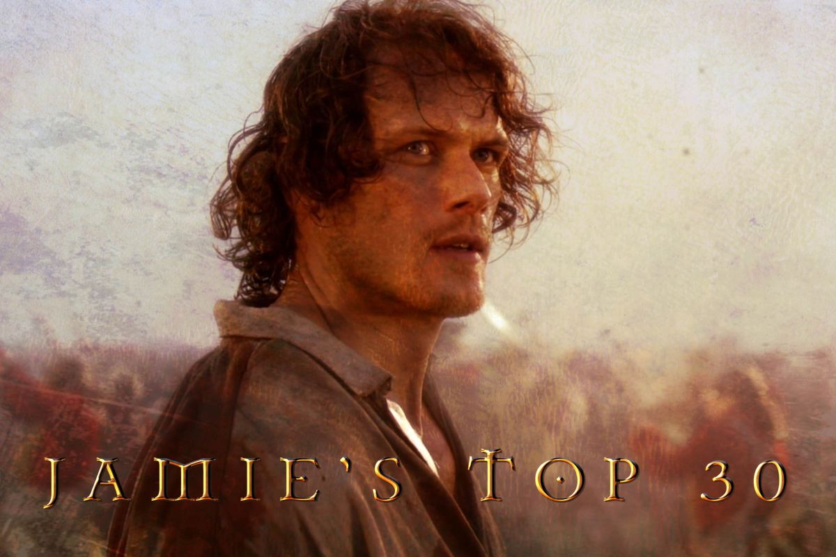 Jamie's Top 30 Looks from Outlander Ep301: THE BATTLE JOINED