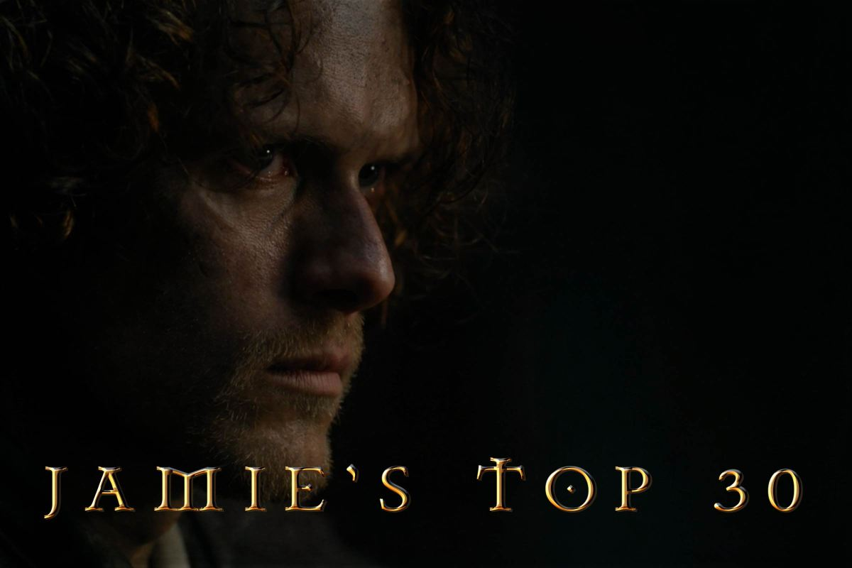Jamie's Top 30 Looks from Outlander Ep303: ALL DEBTS PAID