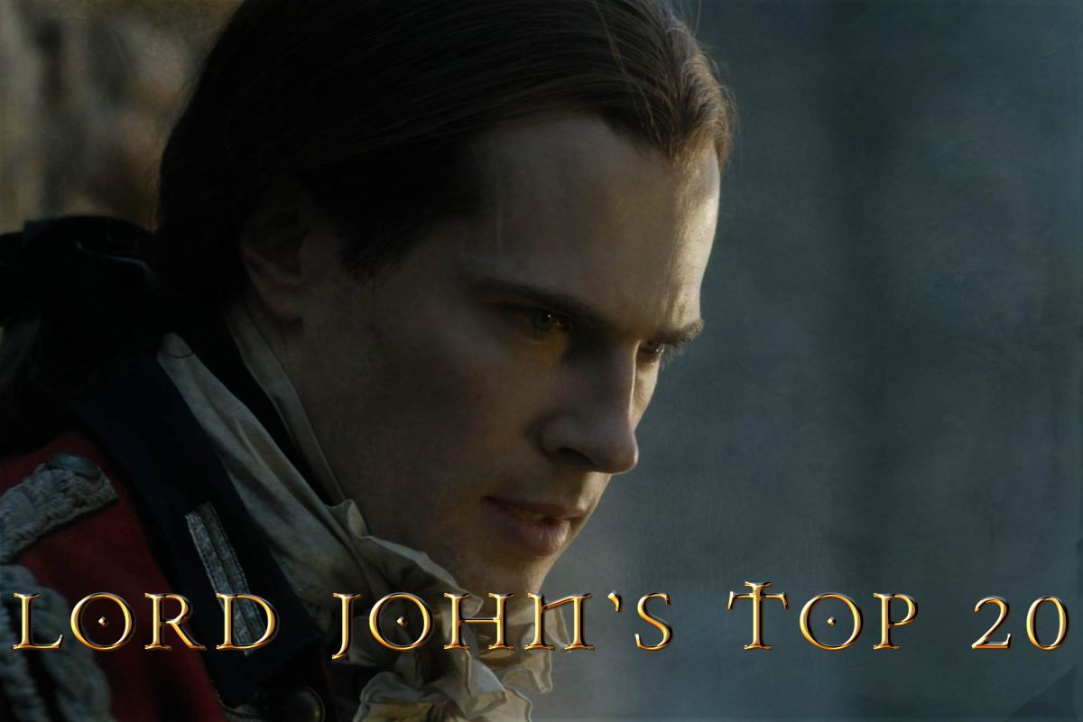 Lord John Grey's Top 20 Looks from Outlander Ep303: ALL DEBTS PAID